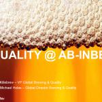 AB-InBev Presentation