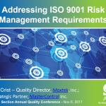 ISO 9001 2015 Risk