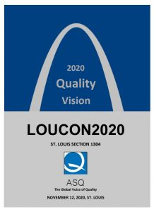 Saint Louis 2020 Quality Conference